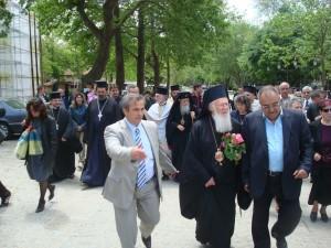 Вселенският патриарх благослови Созопол 1