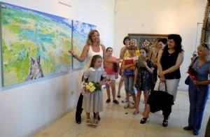 Украински художници с изложба в Созопол 12