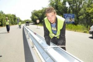 Няма нито една катастрофа това лято по оградената с мантинела отсечка по пътя Бургас-Созопол 11