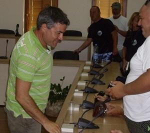 Световен рекордьор обучава млади водолази 1