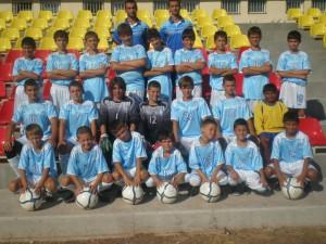 Детският футболен отбор на Созопол на върха в класирането 1