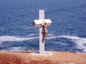 Aкция - 5-метров Христос чака данъчните в Созопол 10
