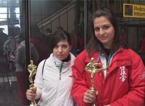 Александра Маринова от Черноморец взе злато на киокушин-кай в Москва 2