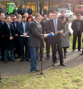 Борисов направи първа копка на Детелината - Бургас-Средец-Созопол 1
