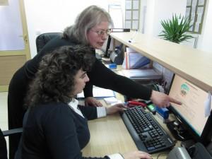 Демонстрация на електронното преброяване в Созопол 1