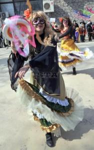Карнавално шоу в Созопол на Сирни Заговезни 1