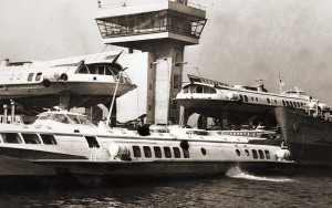 Варна, Морската гара, част от кометите на БМФ, 1970г.