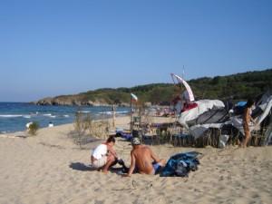 Първите туристи са вече в Созопол 8