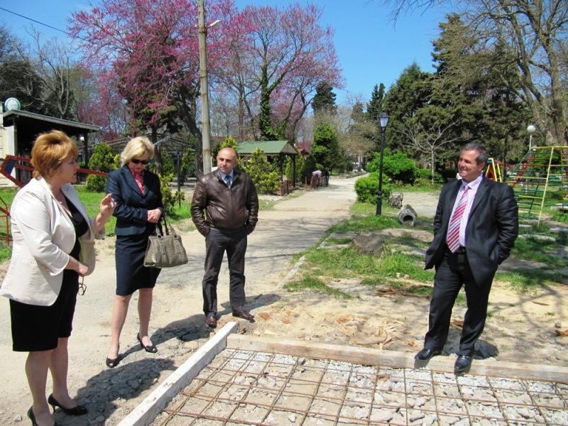 Ротари клуб и община Созопол изграждат спортни площадки в града 1