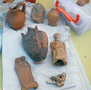 Откриха древен олтар в Созопол 2