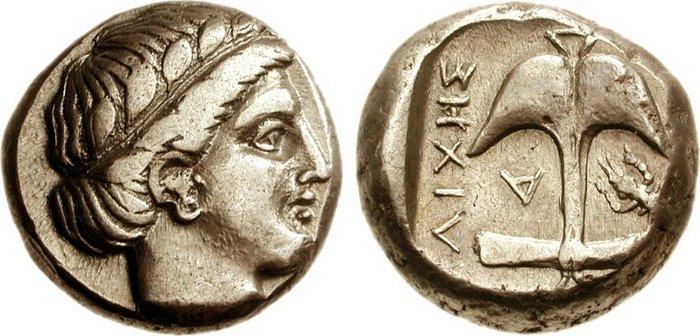 Автентични, редки и скъпи монети от Apollonia Pontica (Созопол) 17