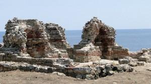 Част от археологическите разкопки на остров Свети Иван