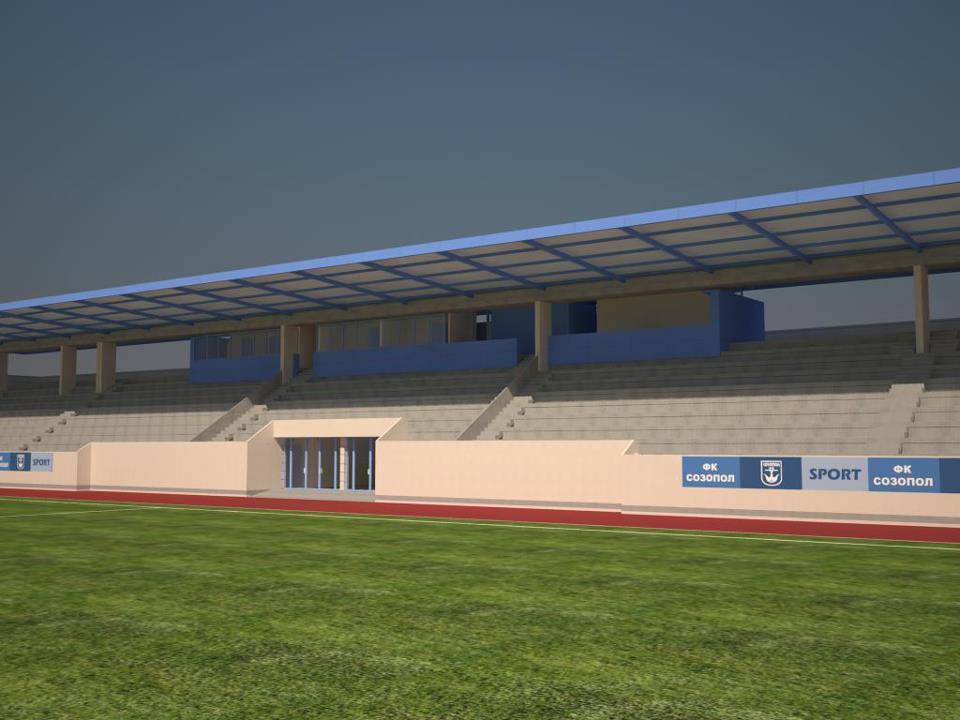 Вижте новия стадион в Созопол 13