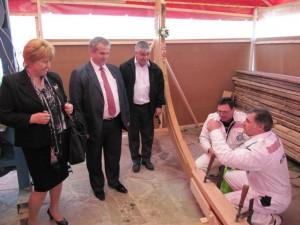 Строителството на старинната аламана в Созопол започна с водосвет 4