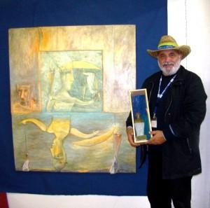 Директорът на Художествената галерия в Созопол с юбилейна изложба 3