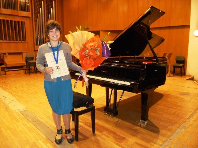 Първа награда за талантливата Мина от Созопол 2