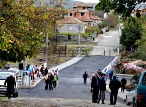 Откриха новия мост в село Росен 2