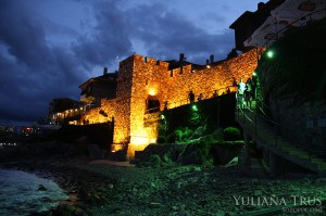 The southern fortress wall and tower in Sozopol 1