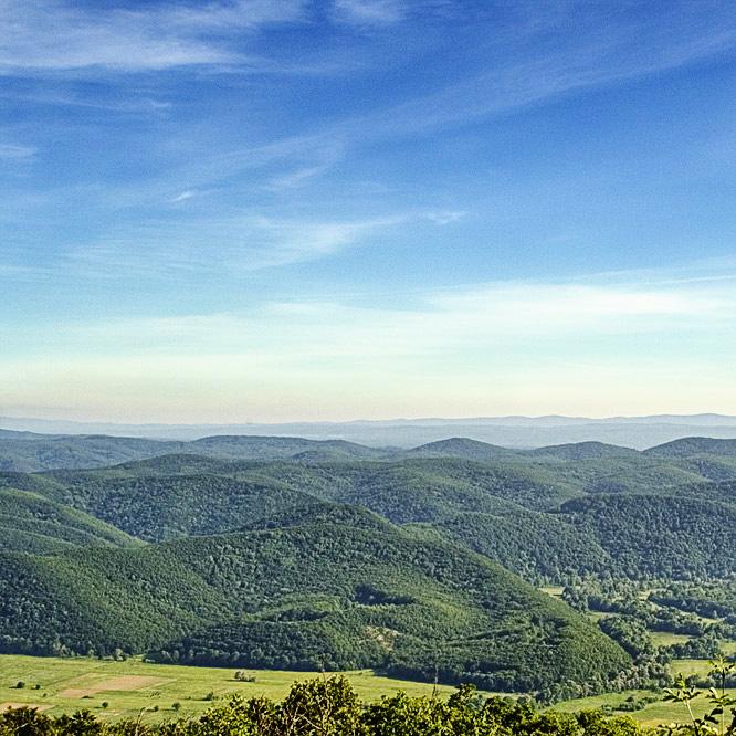 Поглед към Странджа планина от ЗМ Пирен
