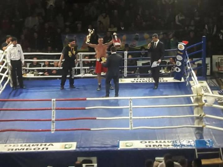 Петър Драганов от Созопол - шампион на България по бокс до 69кг